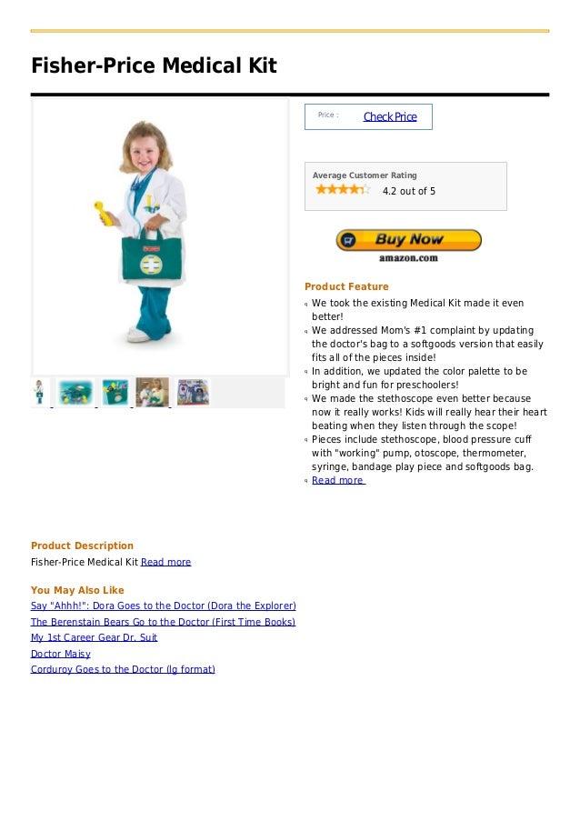 Fisher price medical kit