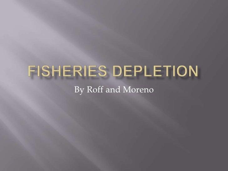 Fisheries depletion