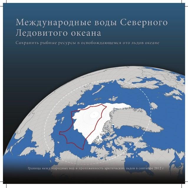 МЕЖДУНАРОДНЫЕ ВОДЫ ЦЕНТРАЛЬНОЙ ЧАСТИ СЕВЕРНОГО ЛЕДОВИТОГО ОКЕАНА Северный Ледовитый океан один из самых нетронутых морских...
