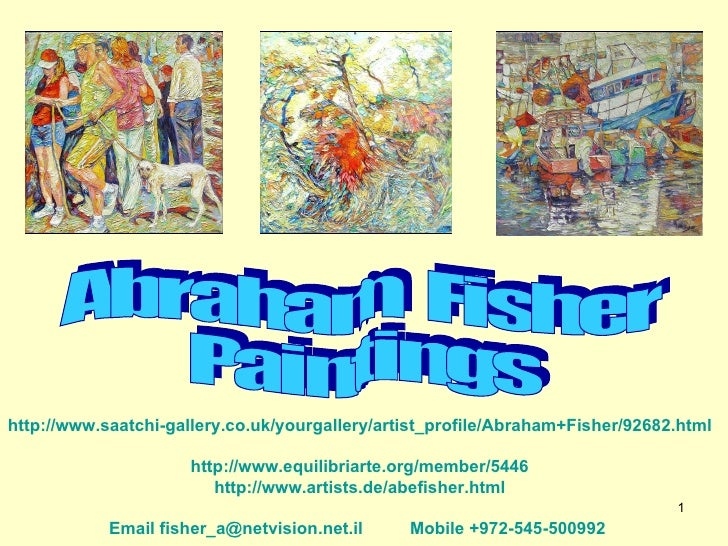 Fisher Paintings  2009 New
