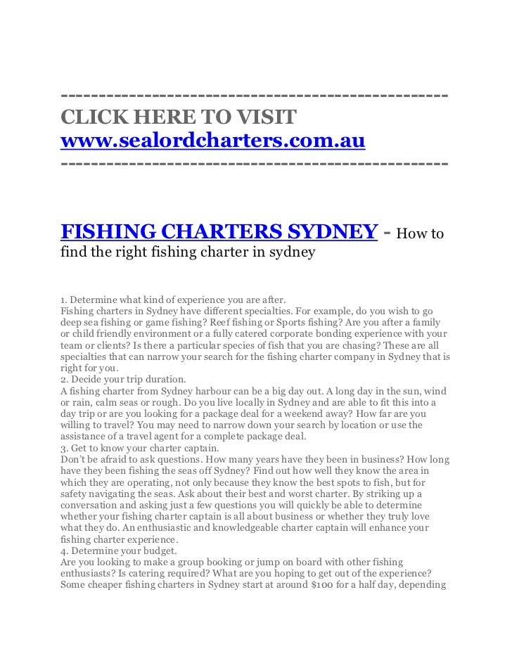 ---------------------------------------------------CLICK HERE TO VISITwww.sealordcharters.com.au--------------------------...