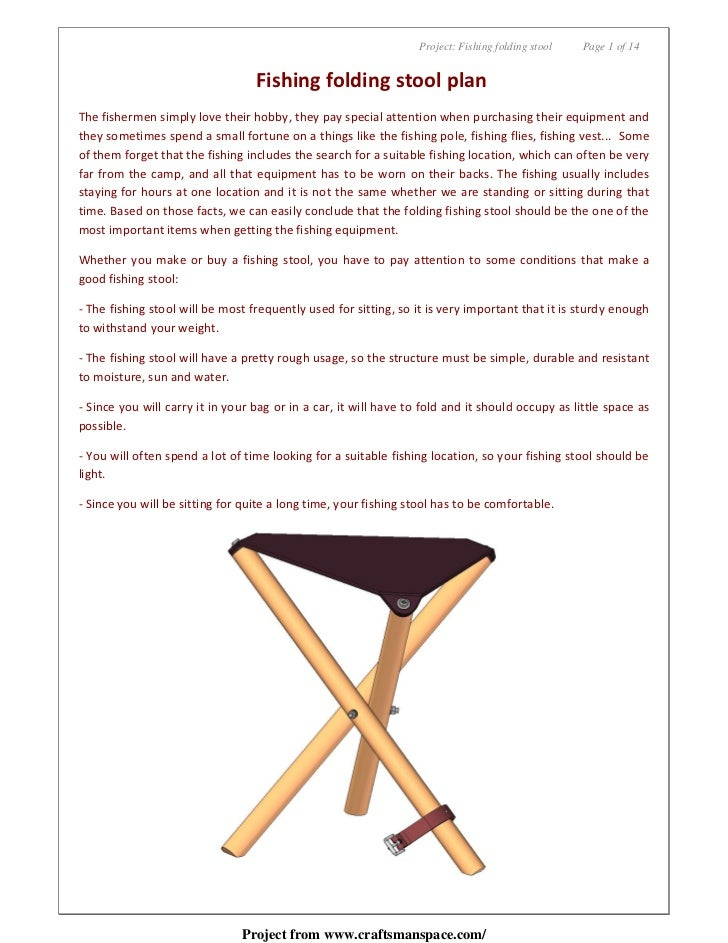 Workhome Idea: Cool 3 legged stool woodworking plans