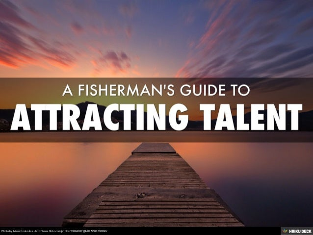 Fishing for Talent - Sourcing candidates online