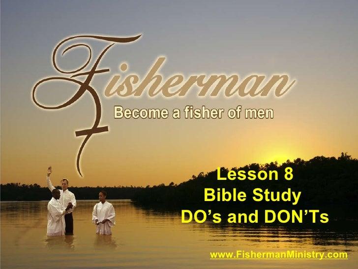 Fishing Lesson 8