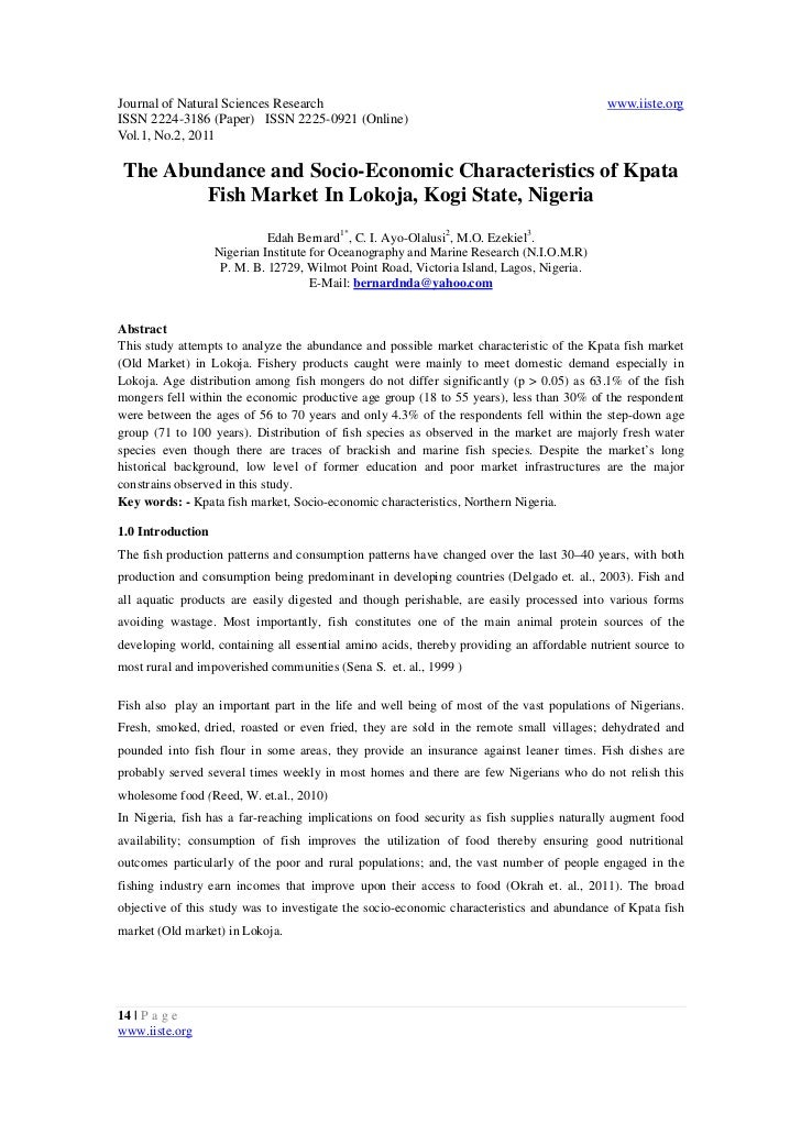 Journal of Natural Sciences Research                                                       www.iiste.orgISSN 2224-3186 (Pa...