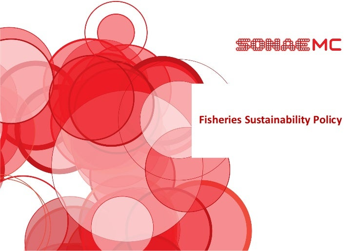 Fisheries Sustainability Policy