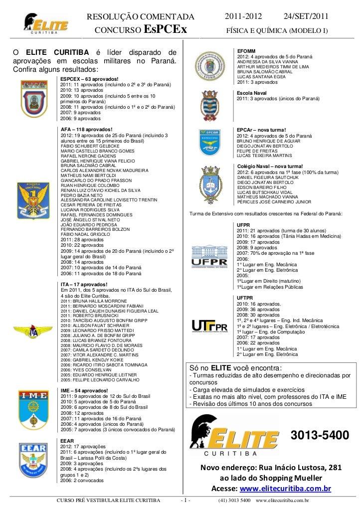 RESOLUÇÃO COMENTADA                                         2011-2012                  24/SET/2011                        ...
