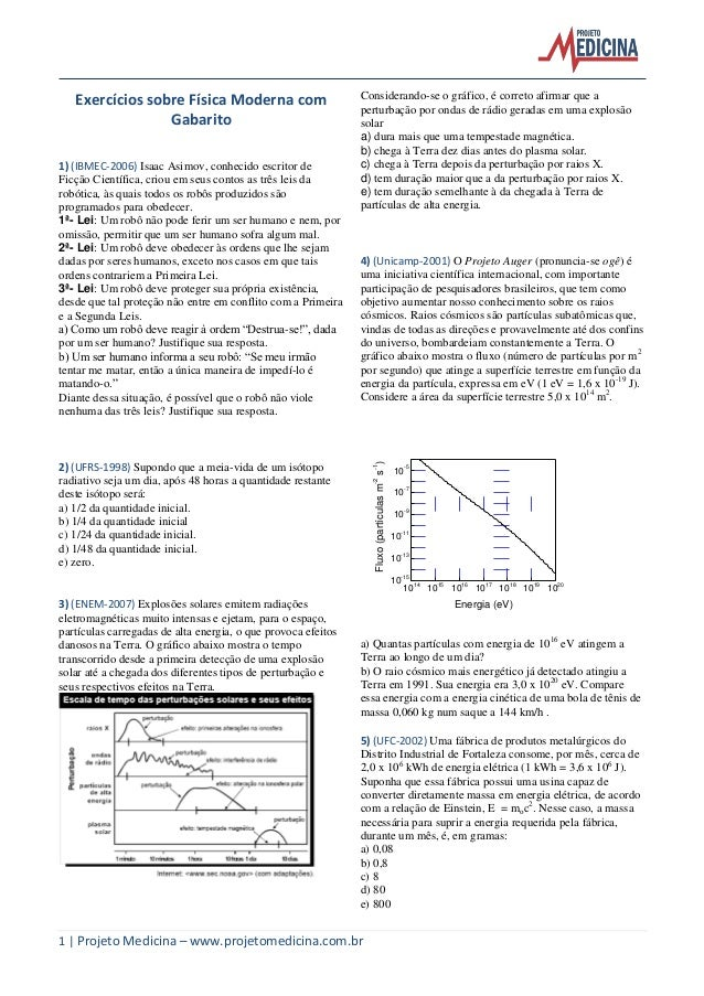 Fisica moderna exercicios_gabarito_resolucoes