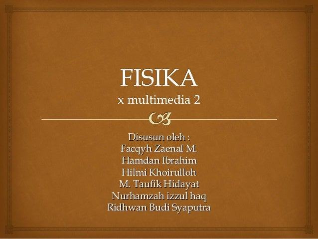 Fisika Fluida Statis Share The Knownledge