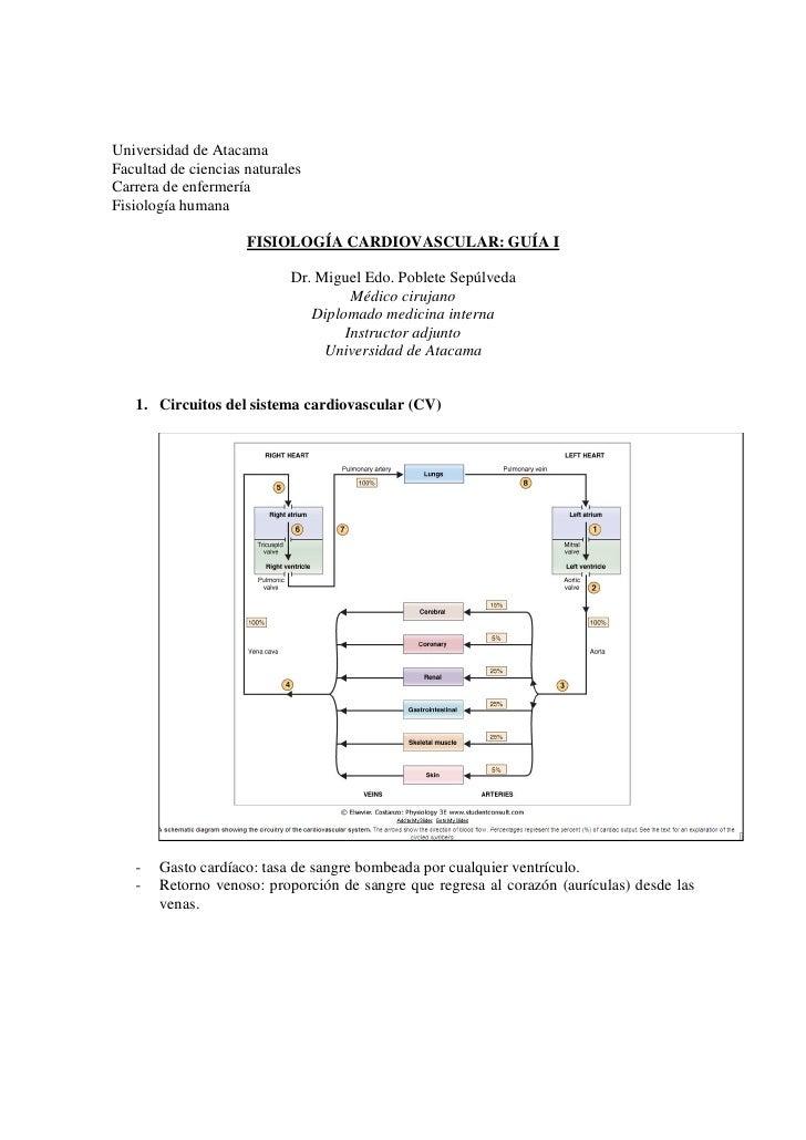 Universidad de Atacama Facultad de ciencias naturales Carrera de enfermería Fisiología humana                       FISIOL...