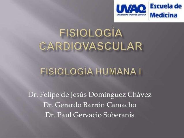 Dr. Felipe de Jesús Domínguez Chávez     Dr. Gerardo Barrón Camacho     Dr. Paul Gervacio Soberanis