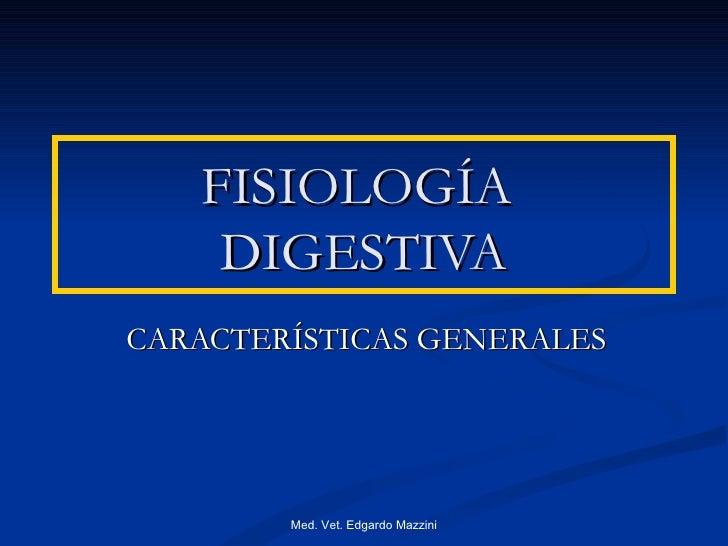 Fisiología  de la motilidad digestiva.