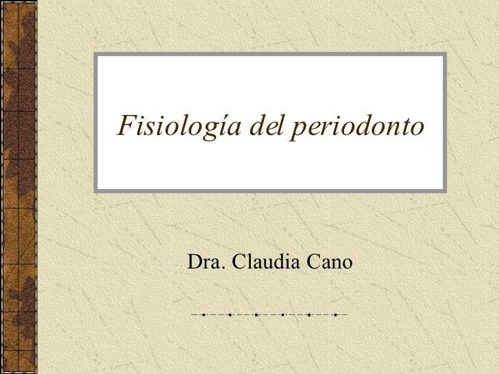 Fisiologia Del Periodonto