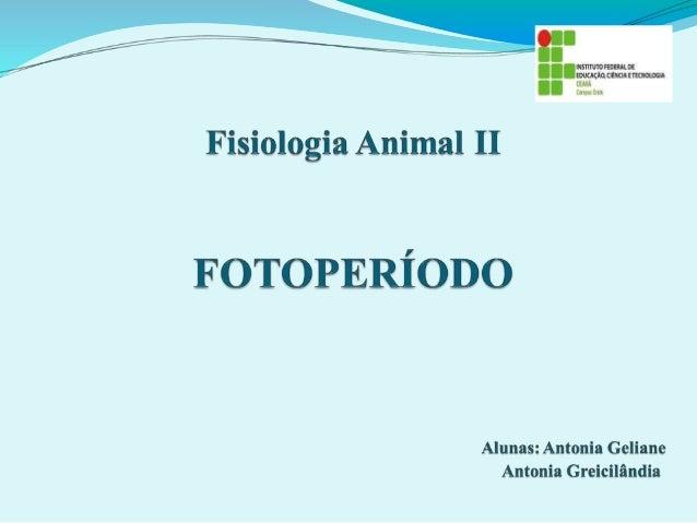 INTRODUÇÃO: >> A atividade reprodutiva das espécies mamíferas está diretamente relacionada à adaptação às condições ambien...