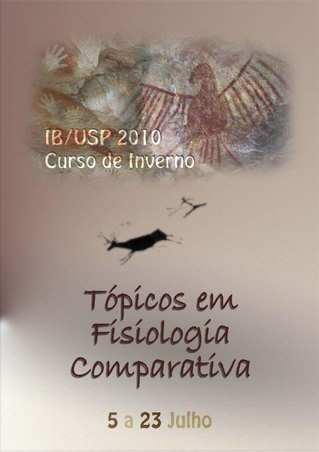 Fisiologia comparada USP 2010