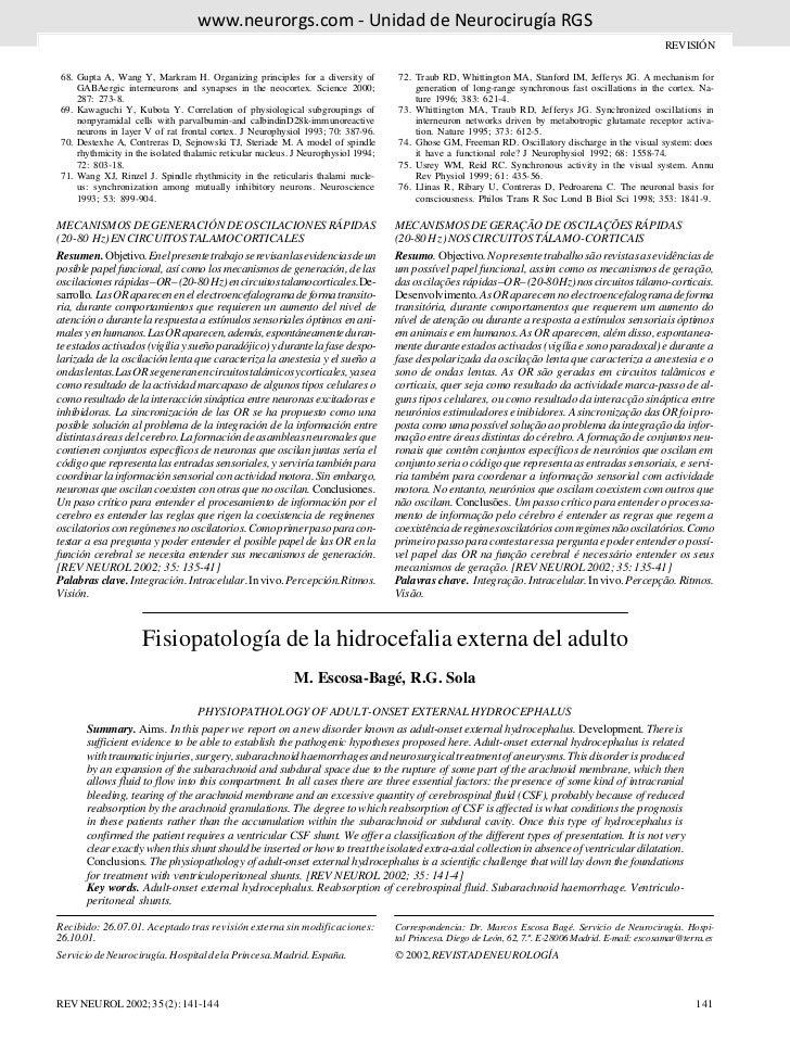 www.neurorgs.net -Fisiopatologia de la hidrocefalia externa del adulto