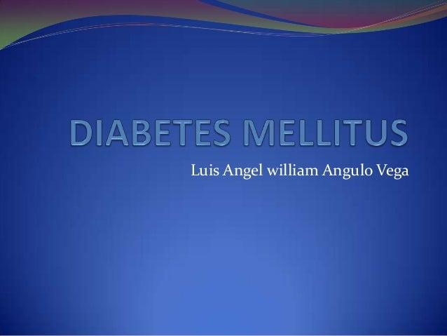 Luis Angel william Angulo Vega