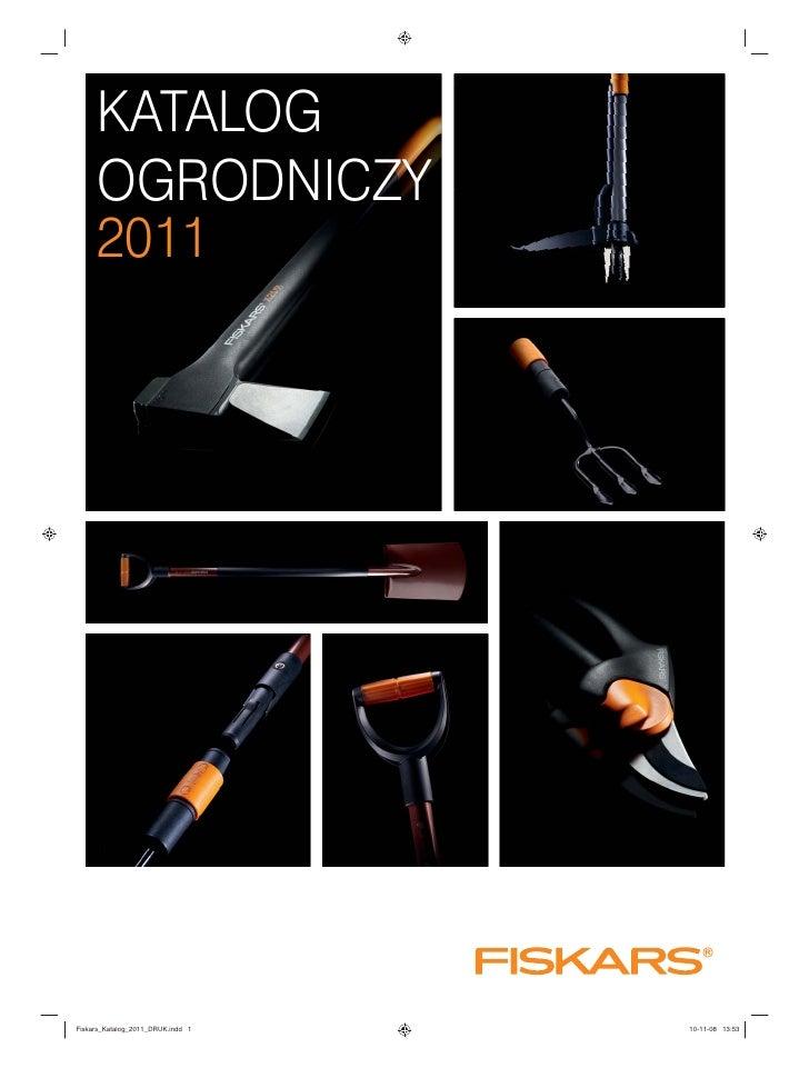 Fiskars  - narzędzia ogrodnicze - katalog 2011