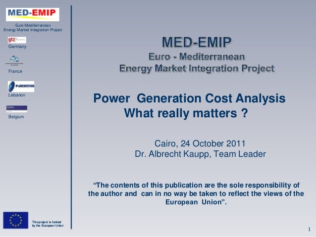 Power generation cost analysis.power generation_cost_analysis
