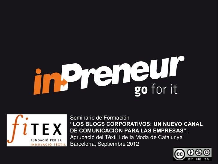 Fitex 201209-blogs corporatius-inpreneur