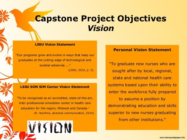 personal vision and mission statement examples for students