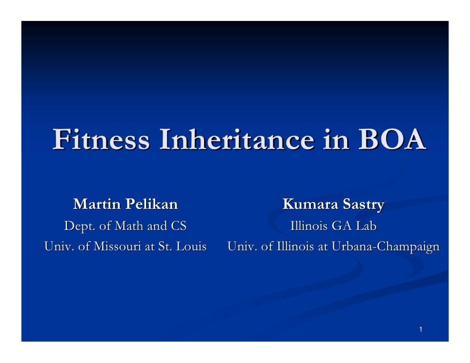 Fitness inheritance in the Bayesian optimization algorithm