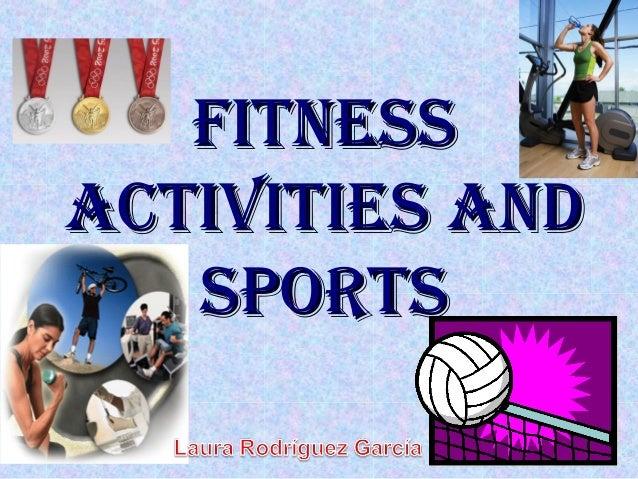 Fitness activities and sport aprentic3