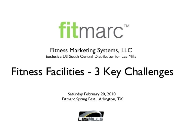 Fitness Facilities - 3 Key Challenges