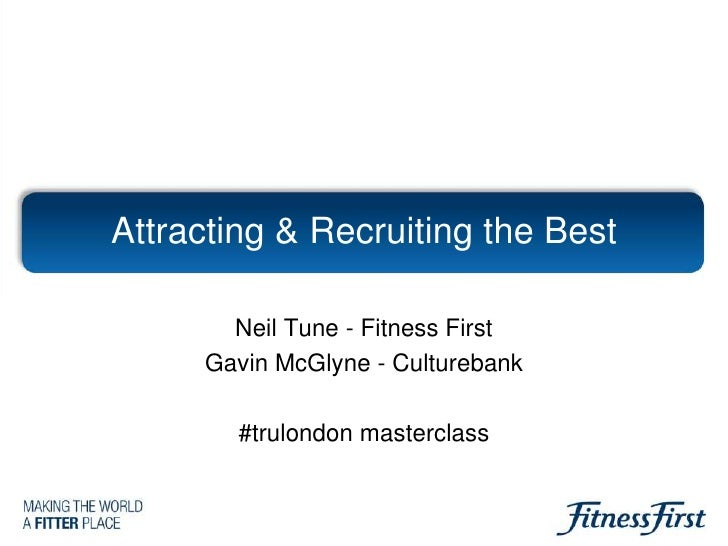 Fitness First Social Recruiting