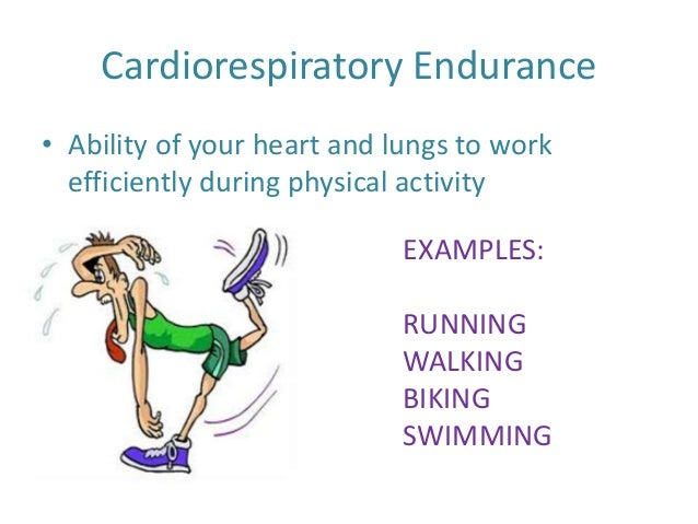 Cardiorespiratory Endurance images