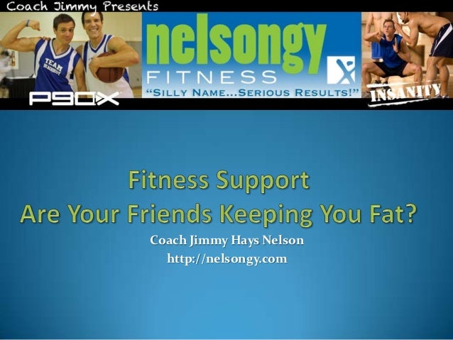 Fitness Support: Are Your Friends Keeping You Fat