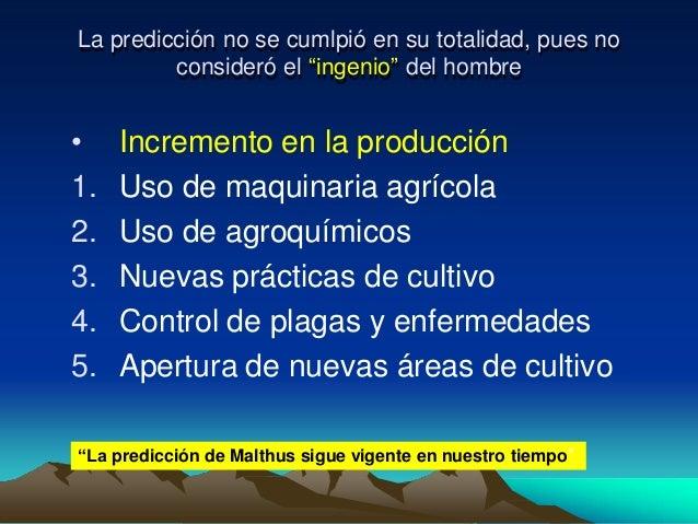 malthus essay