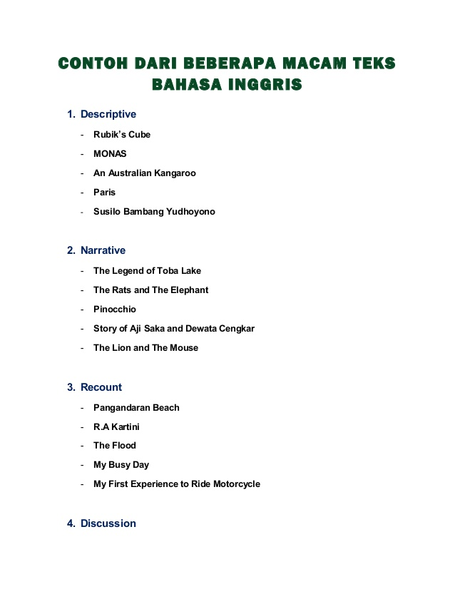 Contoh Review Text Lagu Dalam Bahasa Inggris Novel Bahasa Inggris
