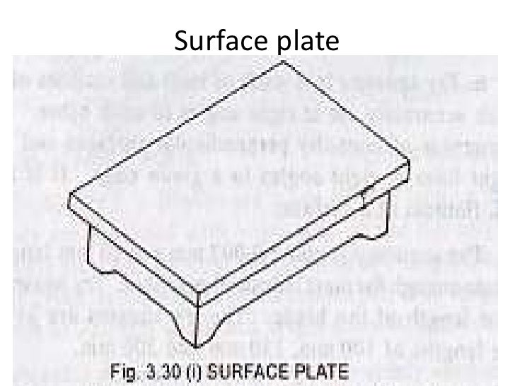 Surface Plate Drawing Surface Plate