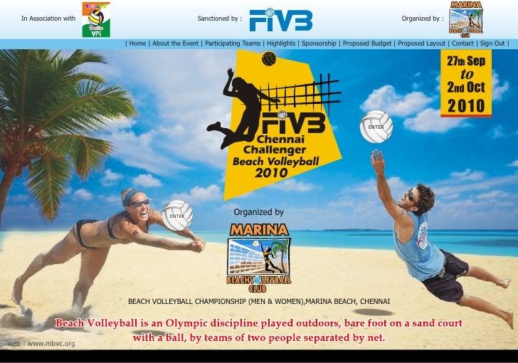 FIVB Chennai Challenger Beach Volleyball Championship