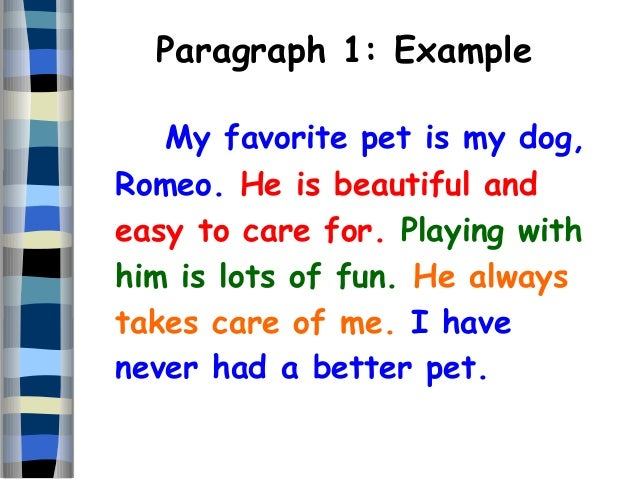 Essay writing about my pet dog