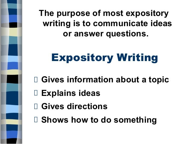 lesson plan on expository essay