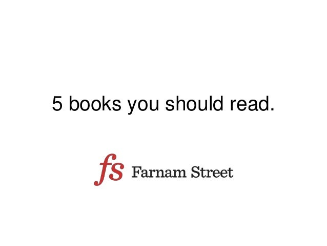 5 books you should read.
