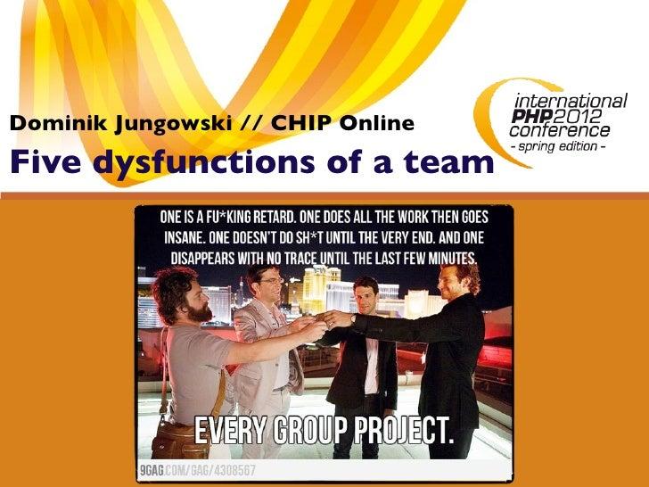 Dominik Jungowski // CHIP OnlineFive dysfunctions of a team
