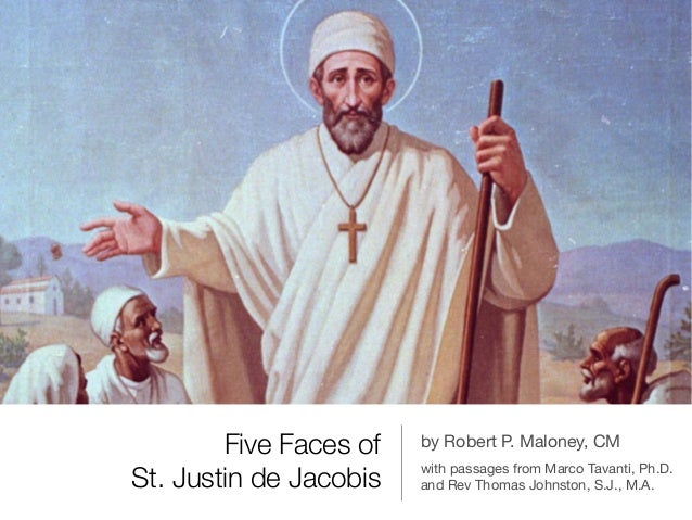 Five Faces of St. Justin de Jacobis