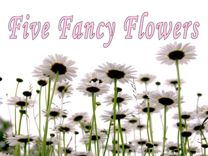 Five Fancy Flowers