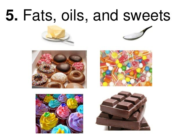 Fats And Sweets Food G...