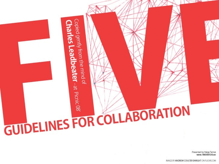 Five Guidelines For Participation