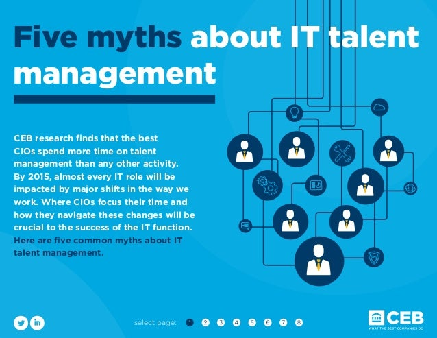select page: CEB research finds that the best CIOs spend more time on talent management than any other activity. By 2015, ...