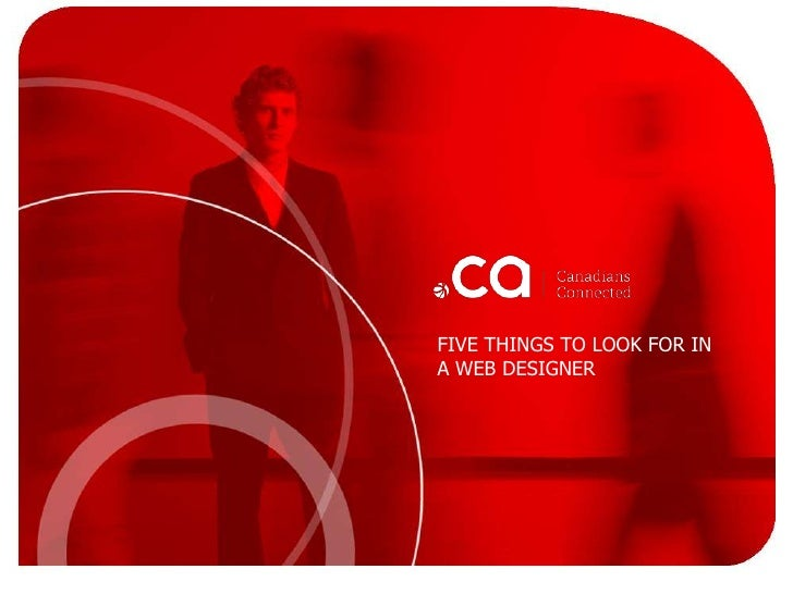 Five points to consider when hiring a web designer
