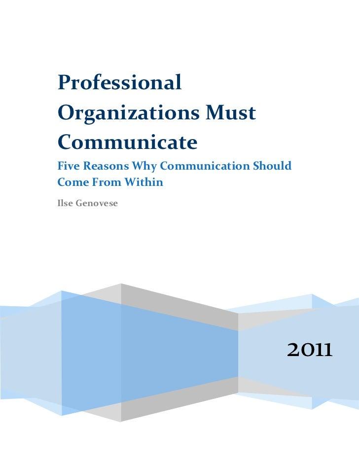 Five Reasons Why Publish Dec2011