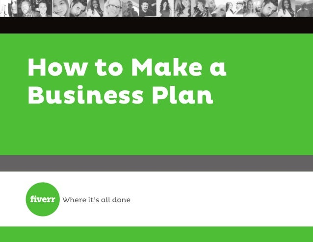 How to make a busines plan