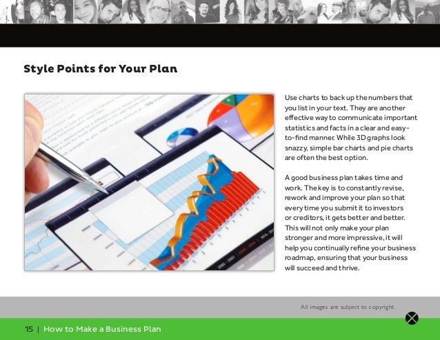 How to make up a business plan