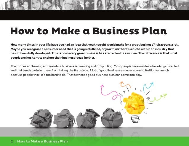 How can i make a business plan