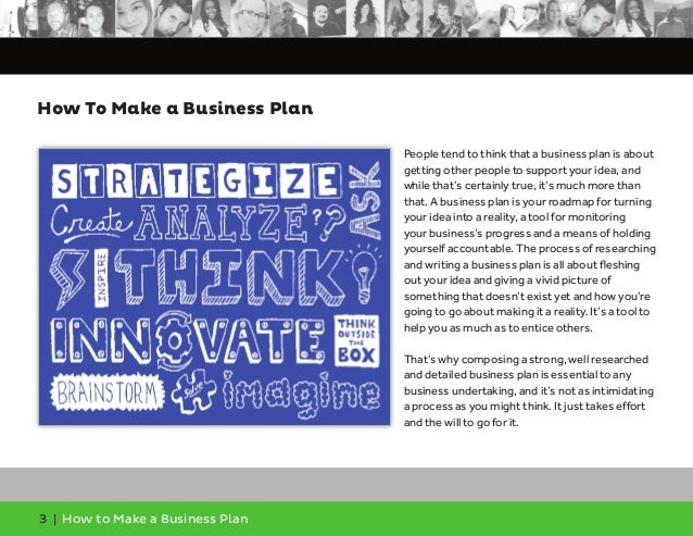 How to make bussiness plan
